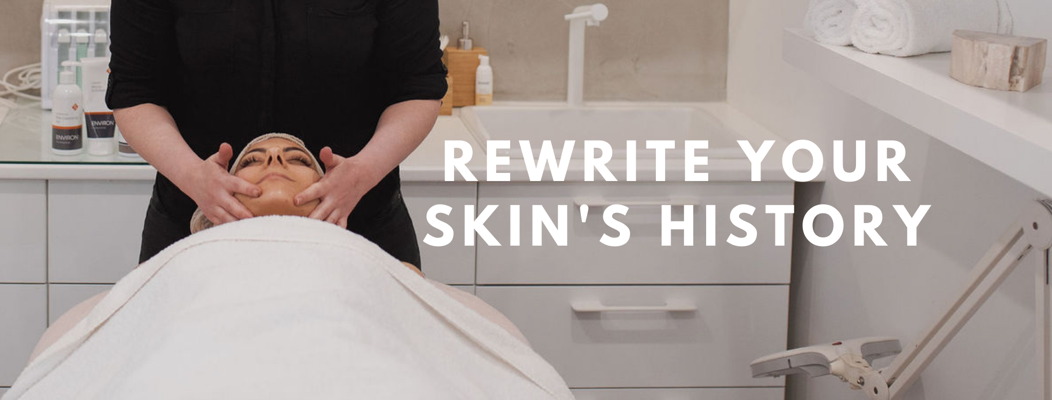 Rewrite your skin's history